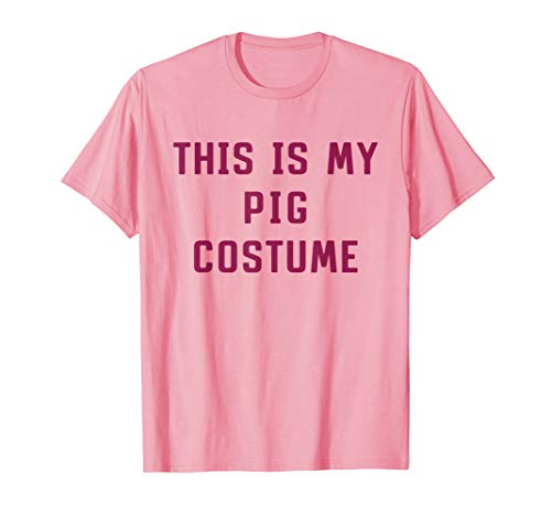 Really Cute Halloween Costumes Ideas (This Is My Human Costume Pig Halloween Cute Funny)