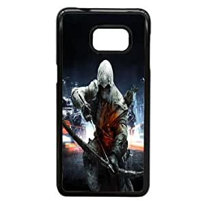 Samsung Galaxy Note 5 Edge Cell Phone Case Black Assassin's Creed Plastic Durable Cover Cases NYTY206901