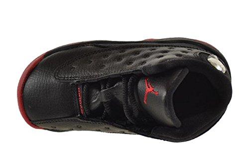 Jordan 13 Retro ''Dirty Bred'' BT Baby Toddler Shoes Black/Gym Red-Black 414581-003 (7 M US) by Jordan (Image #5)