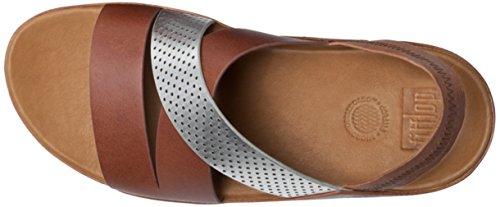 Marr la mujer bronceado HOLA oscuro sandalias de FitFlop A38 SANDALIA 277 Arg 4qTEvnxw