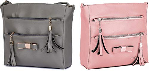Latest Trend Tai Latkan Pu Leather Sling Bag Used For Women And Girls
