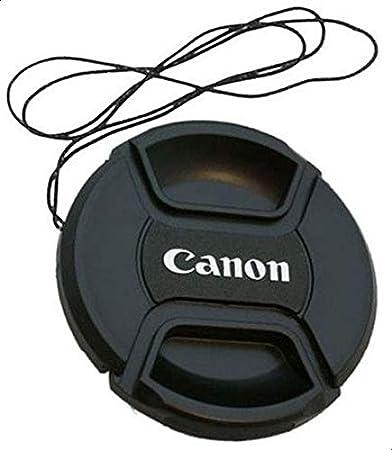غطاء فلتر عدسة كاميرا 58 ملم سحب امامي في المركز لكاميرا كانون