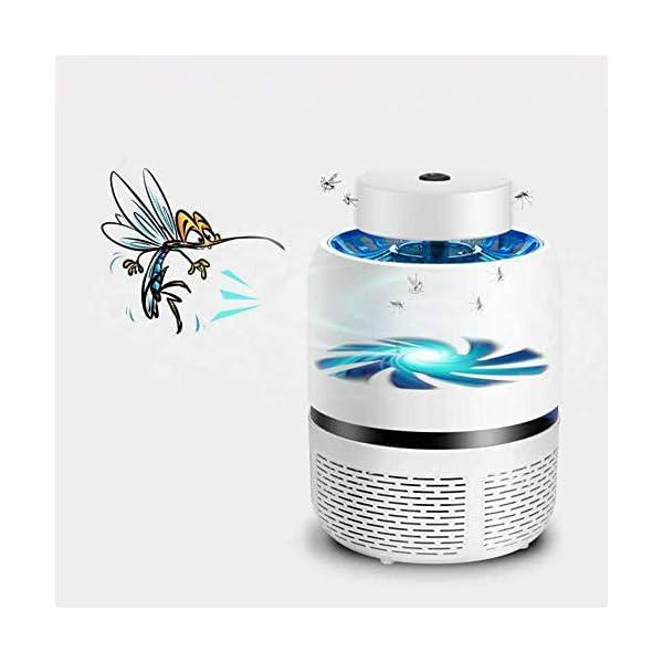 Lampada Antizanzara Elettrica,KKmoon Electric Mosquito Killer Lampada Repellente per Zanzare USB Tipo di Aspirazione LED… 2 spesavip