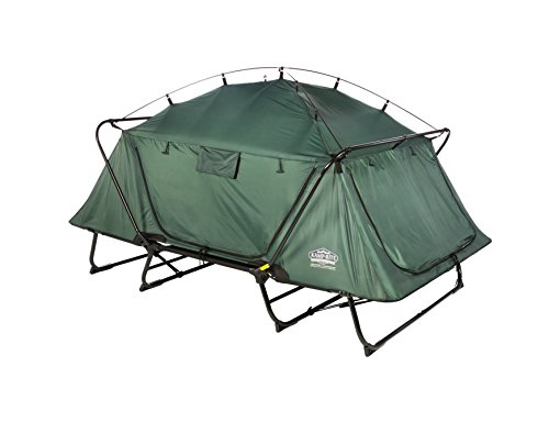 KampRite Double TentCot (Sleeping On A Cot In Cold Weather)