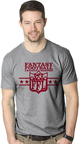 Fantasy football league champion t shirt funny nfl parody for Fantasy football league champion shirt
