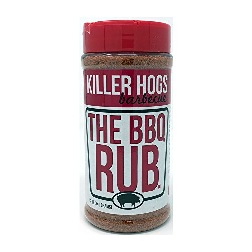 Rub Barbeque (Killer Hogs The BBQ Rub 12 Ounce)