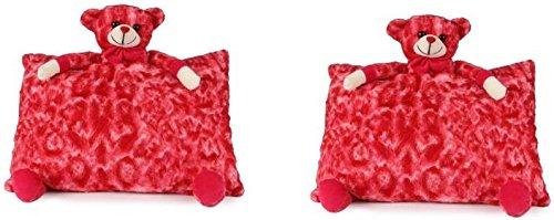 SRT Sweet Dream Pillow Set of 2 - 40 cm (Red)