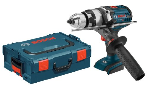 Bosch HDH181XBL 18-volt 1/2-Inch Brute Tough Hammer Drill/Driver Bare Tool with Active Response (Bosch Heavy Duty Drill)