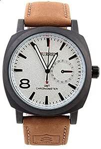 CURREN Watch For Men [leather,Quartz]-8139BW