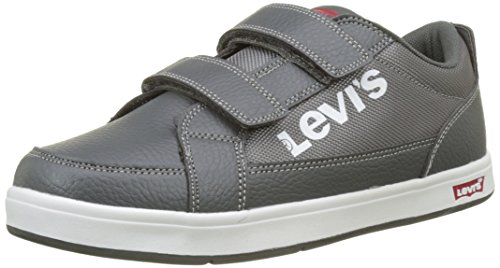 2 Kids Grey Baskets Denver Levi's Velcro Gris Jun Enfant Mixte ETaqafn