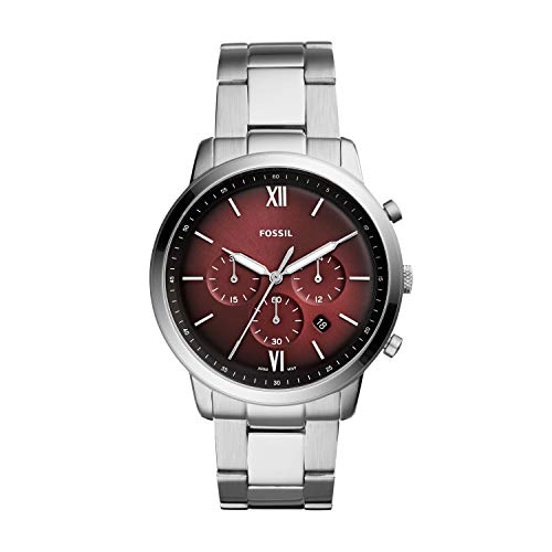 (Fossil Neutra Chronograph Stainless Steel Watch FS5491 )