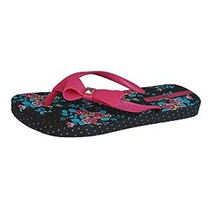 Ipanema Pretty Bow Womens Flip Flops / Sandals-Brown-10