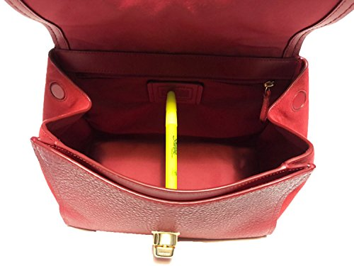Faye Coach Purse F22348 True Leather Red Carryall Crossbody 55nWc6xSZ