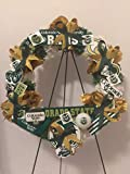 COLLEGE PRIDE - SPIRIT - A&M - TEXAS A&M UNIVERSITY 2 - TEXAS AGRICULTURAL & MECHANICAL UNIVERSITY - AGGIES - DORM DECOR - DORM ROOM - COLLECTOR WREATH - WHITE CARNATIONS & MAROON VELVET ROSES
