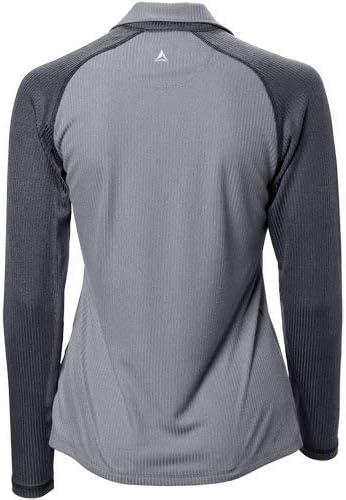 Bermuda Sands Womens Mara 1//4 Zip Pullover Grey L