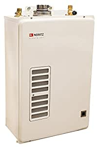 Noritz EZTR40-NG Indoor Tankless Water Heater 6.6 GPM Natural Gas; Designed for Easy Replacement of 30/40-Gallon Tank Type Heaters