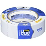 3M Scotch Blue, Multi-Use Painters Tape, 1.41in by 60yd (Pack of 3)