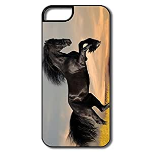 Popular Black Horse IPhone 5/5s Case For Her