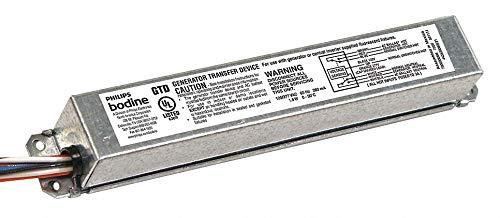Bodine GTD Fluorescent Generator Transfer Bypass Device, Ballast, Elcu, Emergency Lighting