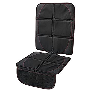 Trulanco Car Seat Protector For Baby Child Booster Pet Mats Protects Leather Material And