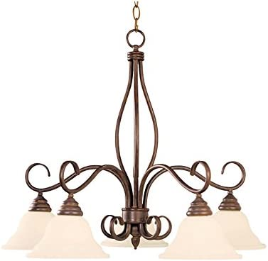 Savoy House KP-101-5-91 Five Light Chandelier
