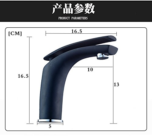 Commercial Bathroom Sink Taps TOMOOG Faucet faucet copper hot and cold wash basin faucet European waterfall single hole basin faucet C14A Restroom Fixtures