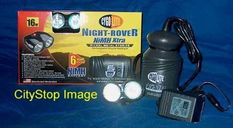 Cygolite Night Rover NiMH Xtra 16W Bike Light