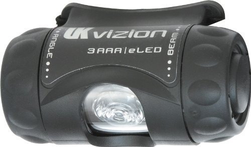 (Underwater Kinetics 3 AAA Vizion eLED Headlamp (Black))