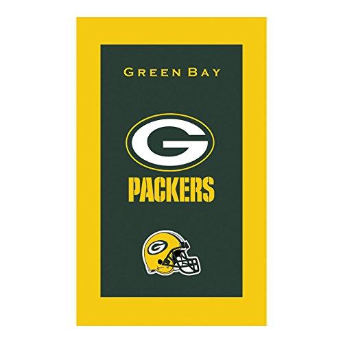 KR Strikeforce Bowling Bags Green Bay Packers NFL Licensed Towel by KR - Nfl Team Bowling Towel