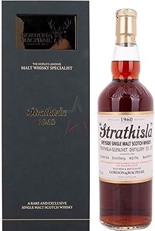 Gordon & MacPhail Gordon & MacPhail STRATHISLA Rare Vintage Speyside Single Malt Scotch Whisky 1960 43% Vol. 0,7l in Holzkiste - 700 ml