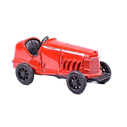 Metal Red Racing Car Miniature Die Cast Pencil Sharpener - Collectible Metal Race Car - Sb Racing