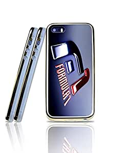 Iphone 5 IPhone 5s Funda Case F1 Cool Pattern Unique Design With TPU + Slicone Dual Material Golden Border Phone Durable Anti Dust Rugged Protictive Funda Case Cover For Iphone 5 / 5s - 2 in 1 Style
