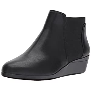Aerosoles Women's Tried and True Ankle Boot Black Combo 7 M US