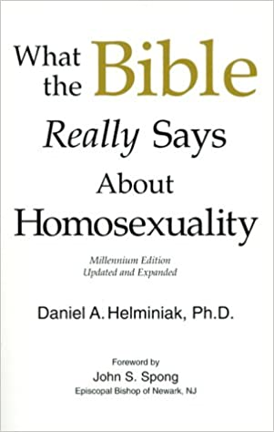 Daniel helminiak homosexuality and christianity