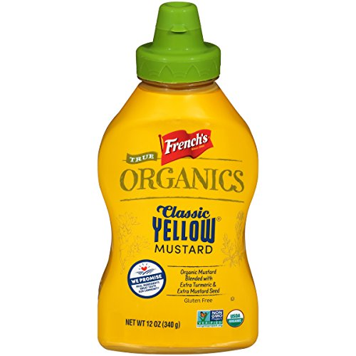 - French's True Organics Classic Yellow Mustard, 12 Ounce (Pack of 12)