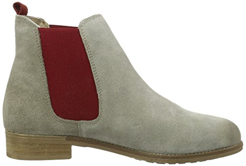 Taupe Red Tamaris 25409 Women's Beige 386 Boots Chelsea 4wqXH1g