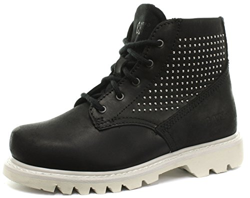 Caterpillar Pixel Black Womens Ankle Boots, Size 6