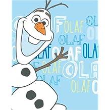 Disney Frozen 'Olaf' Panel 100% Polyester Fleece Blanket Throw