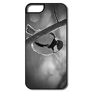PTCY IPhone 5/5s Customize Fashion Great Tit Black White