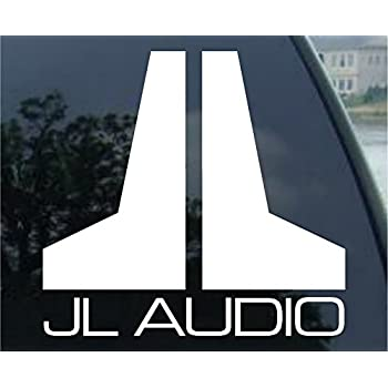 Amazon.com: JL Audio White Sticker Decal: Automotive
