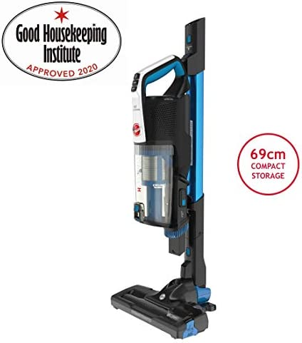 Hoover H-FREE 500 Pets 3in1 Cordless Stick Vacuum Cleaner, HF522UPT, Light, Compact, Powerful, Agile, Blue