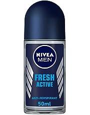 Nivea Fresh Active Deodorant Roll On for Men, 50ml
