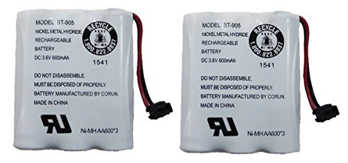 Genuine Uniden Model BT-905 BBTY0663001 Rechargeable Cordless Handset Phone Battery ()