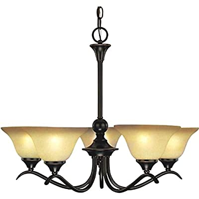 Hardware House Dover 5 Light Chandelier Light Fixtures