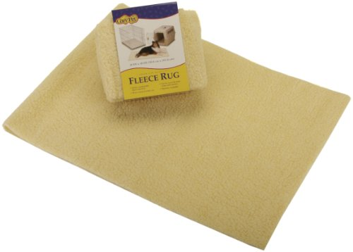 Dallas Manufacturing Co. 20-Inch by 40-Inch Cut to Fit Fleece Rug (Fleece Dog Rug)