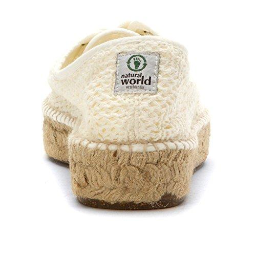 YUTE 686 Bianco World TINTADO Vegan REJILLA 505 INGLES Natural wfgqEXO