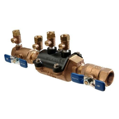 Wilkins 1-350 Double Check Valve Assembly FNPT x FNPT Composite Vessel, 1'' by Wilkins