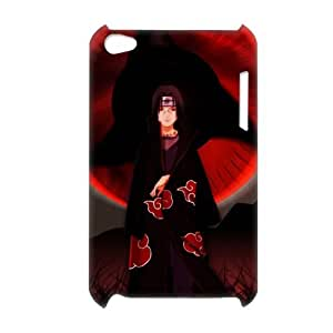 3D Print Hot Anime Series&Naruto Uchiha Itachi Sharingan Eye Theme Case Cover for iPod Touch 4 - Personalized Hard Back Protective Case Shell-Perfect as gift
