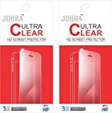 Johra Pack of 2 Ultra Clear HD Screen Scratch Guard Protector For Coolpad Dazen 1