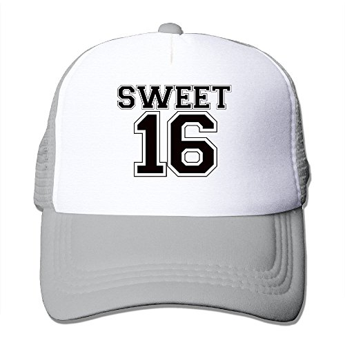Birthday Sweet 16 Sweet Sixteen Gift Trucker Baseball Mesh Cap Adjustable Fashion (Halloween Party Di Bandung)